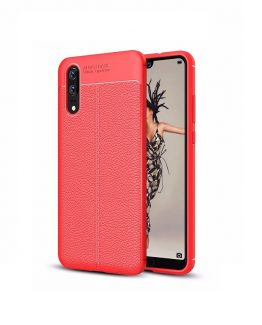 Luxury-Leather-texture-Phone-Cases-cover-For-Huawei-P20-lite-Case-bumper-Thin-Soft-TPU-Case