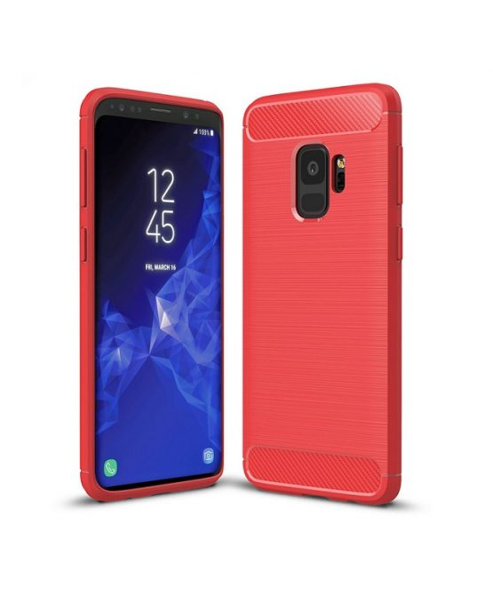 flexible-carbon-fibre-texture-case-for-samsung-galaxy-s9-red