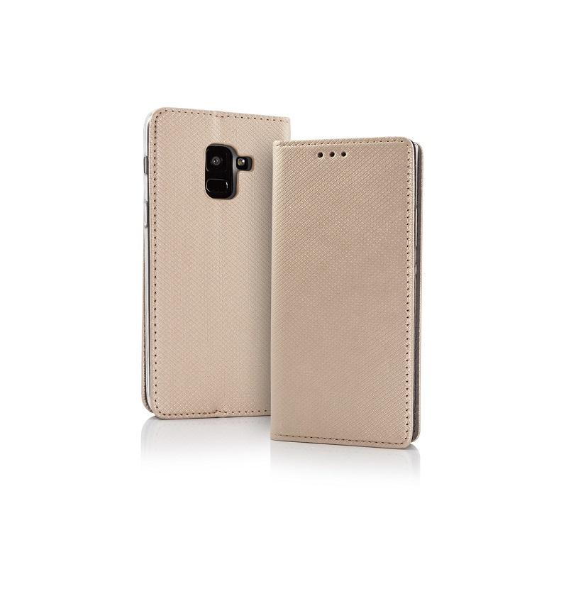 57dec35aac0 Samsung Galaxy A8 Plus (2018) ümbris (Flip Magnet Golden) - Keiss.ee