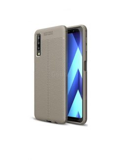 SA7B-4008B-1__Luxury-Auto-Focus-Litchi-Texture-Silicone-TPU-Back-Cover-for-Samsung-Galaxy-A7-2018-Gray